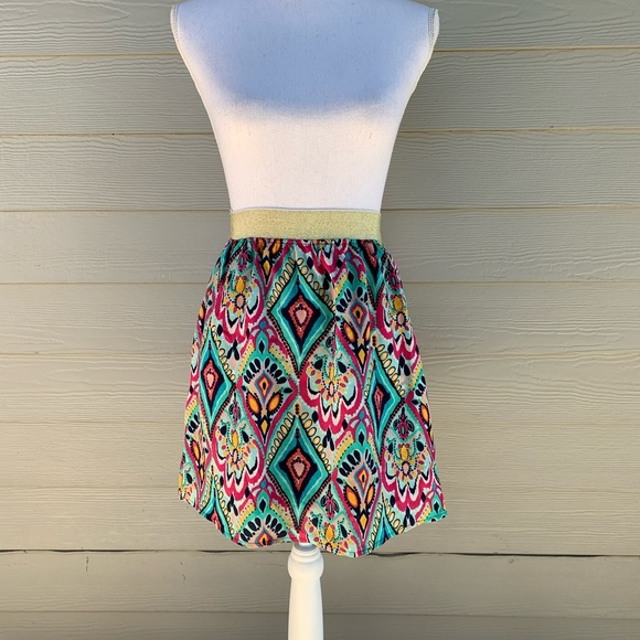 Lilly Pulitzer Dresses & Skirts - Lilly Pulitzer Crown Jewels Print Pull-On Skirt